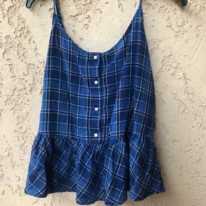 BLUE PICNIC STYLE TOP